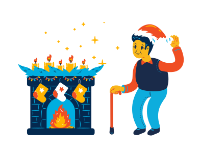 style Christmas feeling images in PNG and SVG   Icons8 Illustrations