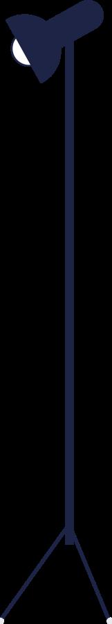 Ilustración de clipart de Lámpara de estudio fotográfico en PNG, SVG