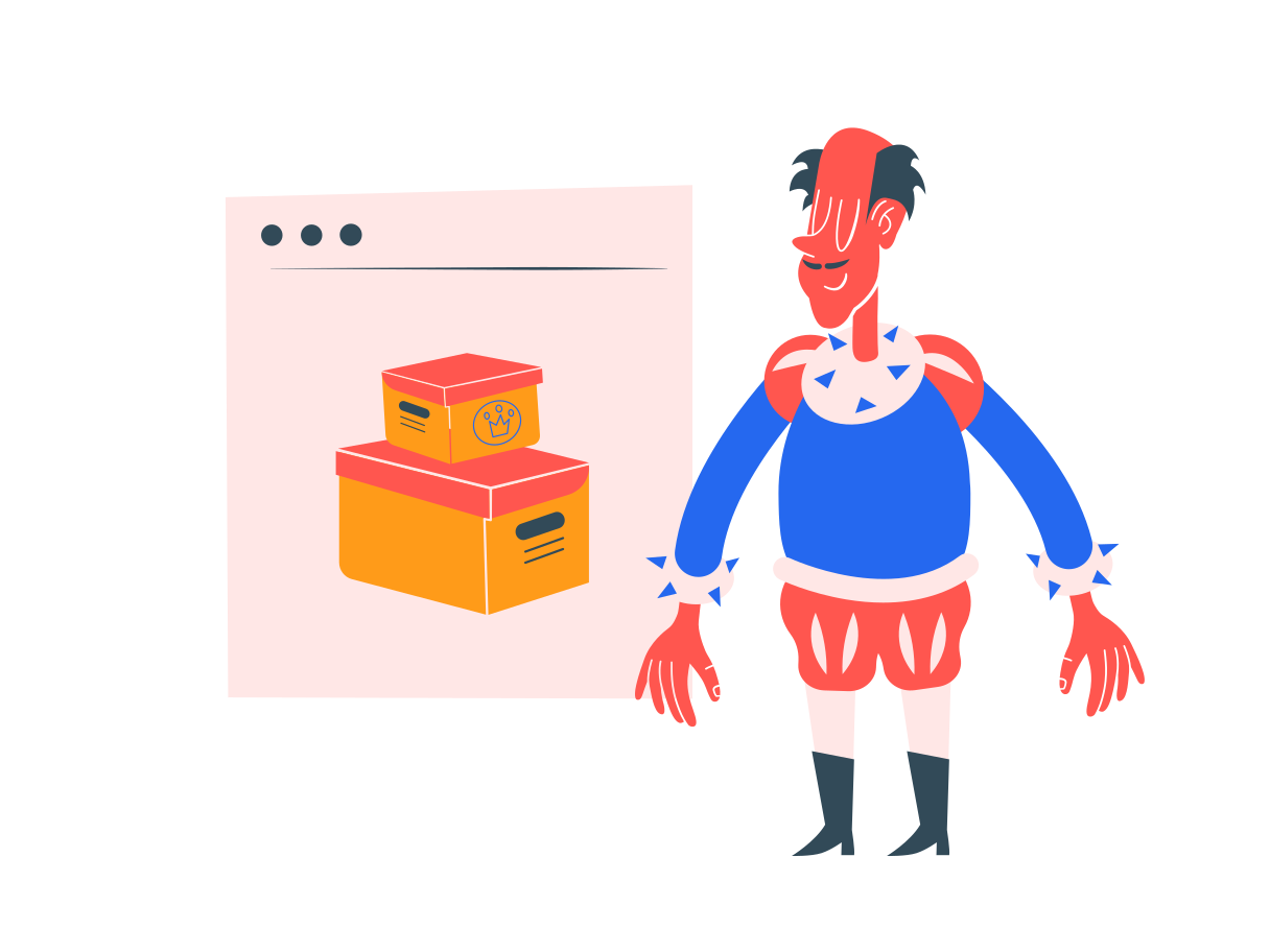 Ordering online Clipart illustration in PNG, SVG