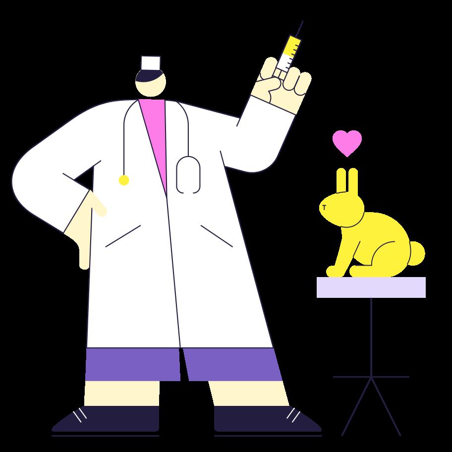 Good Doctor Clipart illustration in PNG, SVG