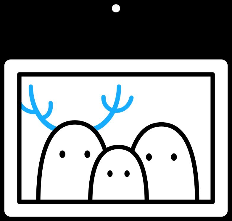 Иллюстрация Картина с привидениями в стиле  в PNG и SVG | Icons8 Иллюстрации