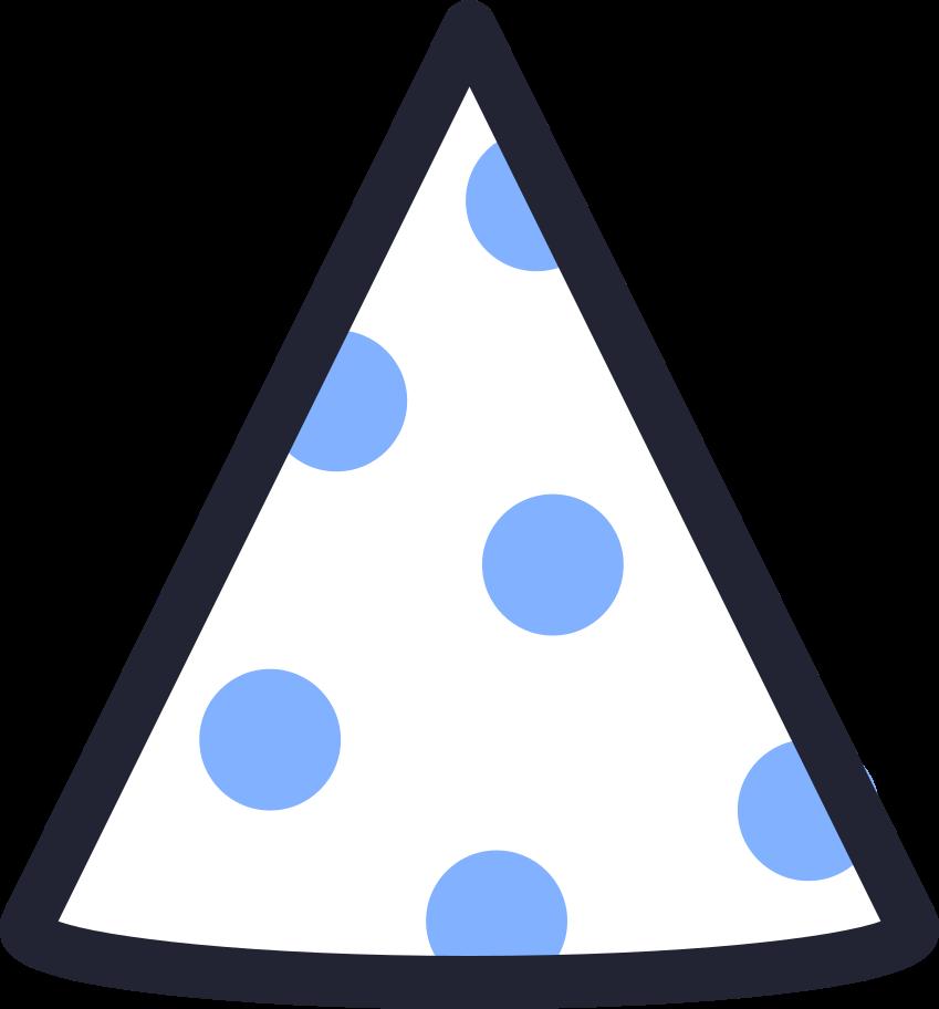 PNGとSVGの  スタイルの 誕生日の帽子 ベクターイメージ   Icons8 イラスト