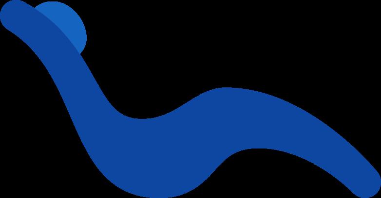 ラウンジチェア のPNG、SVGクリップアートイラスト
