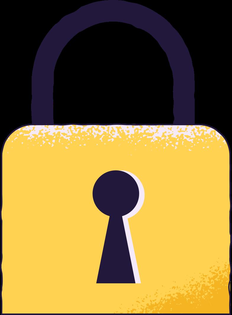 log in  lock Clipart illustration in PNG, SVG
