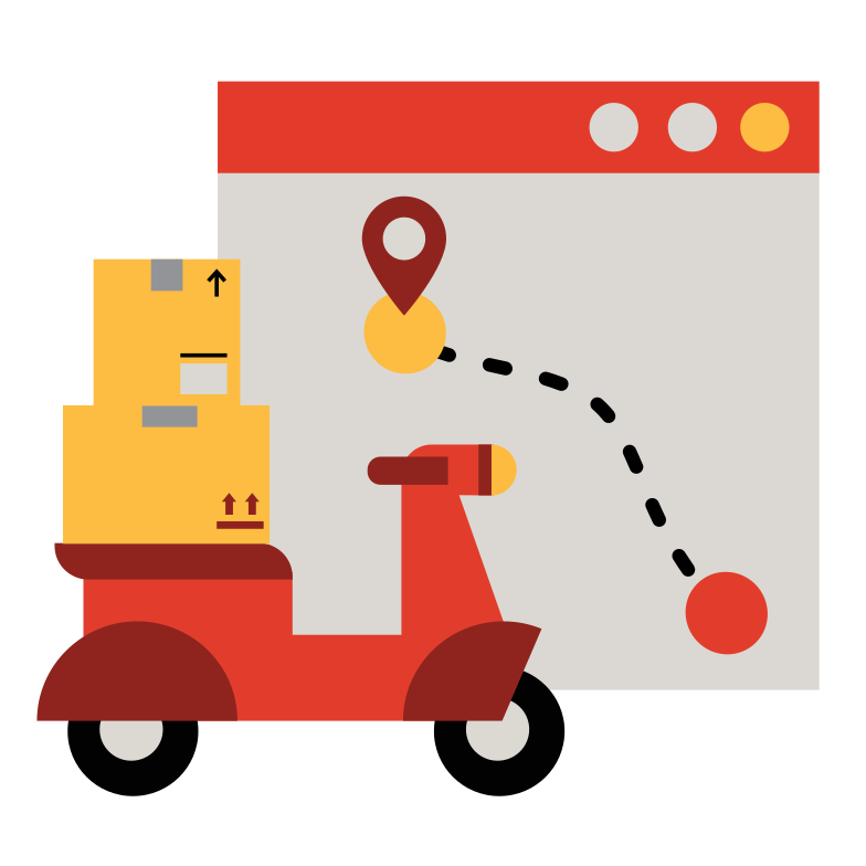 Route built Clipart illustration in PNG, SVG
