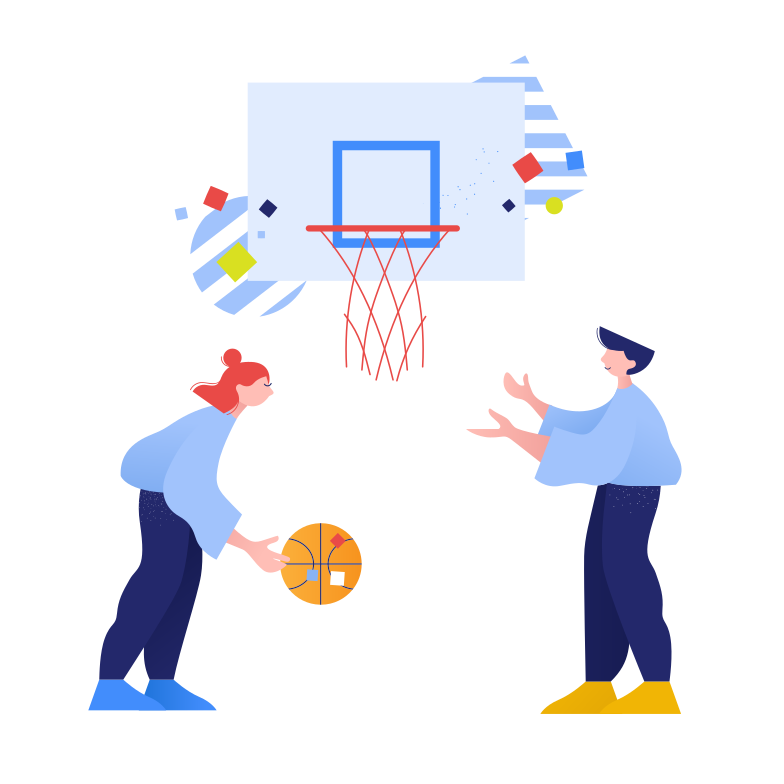 style Playing basketball Vector images in PNG and SVG | Icons8 Illustrations