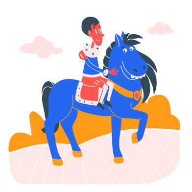 style Horse ride images in PNG and SVG | Icons8 Illustrations