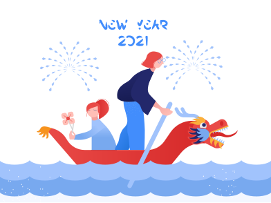 style Chinese New Year 2021 images in PNG and SVG | Icons8 Illustrations