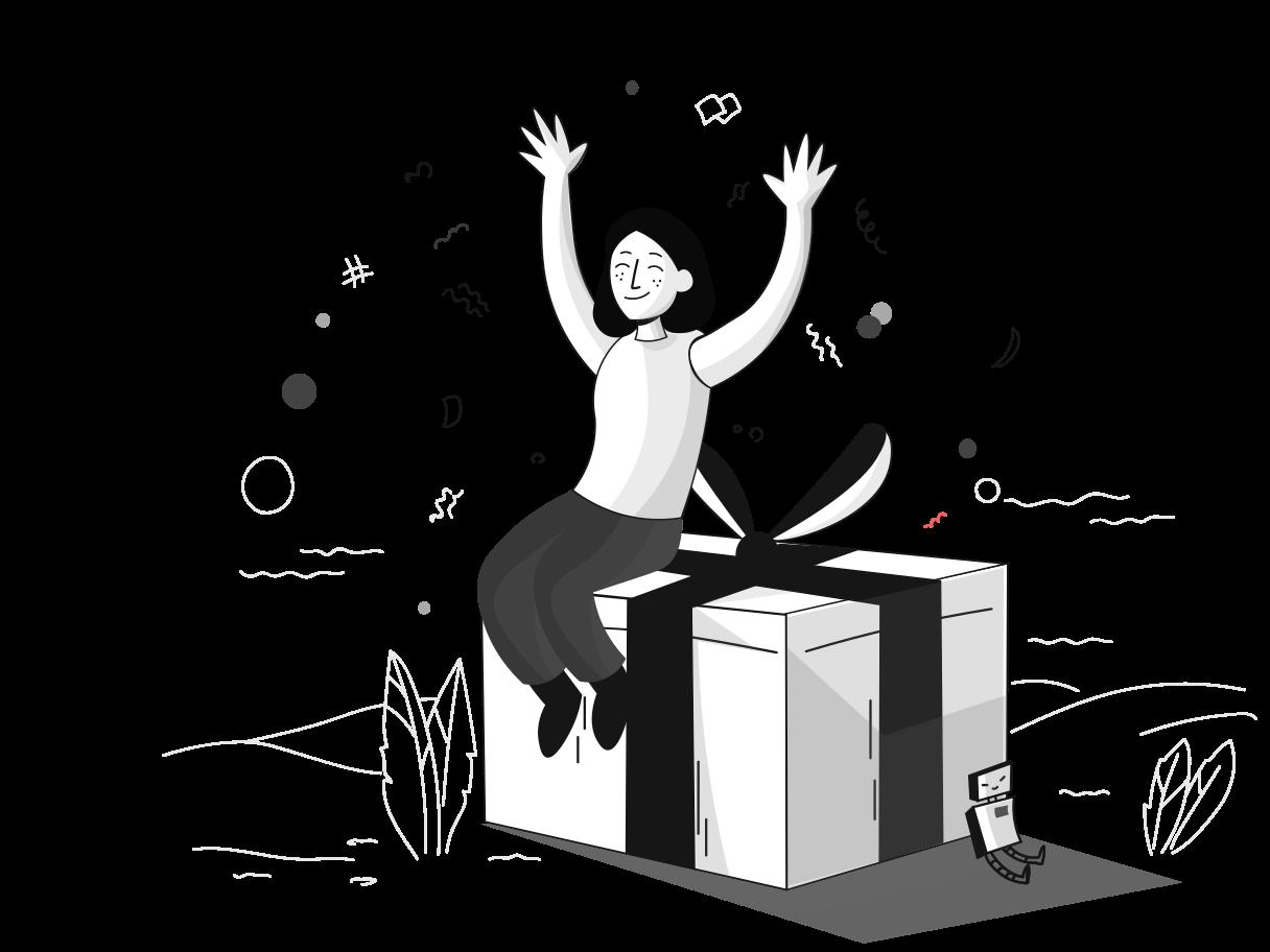 Giveaway Clipart illustration in PNG, SVG