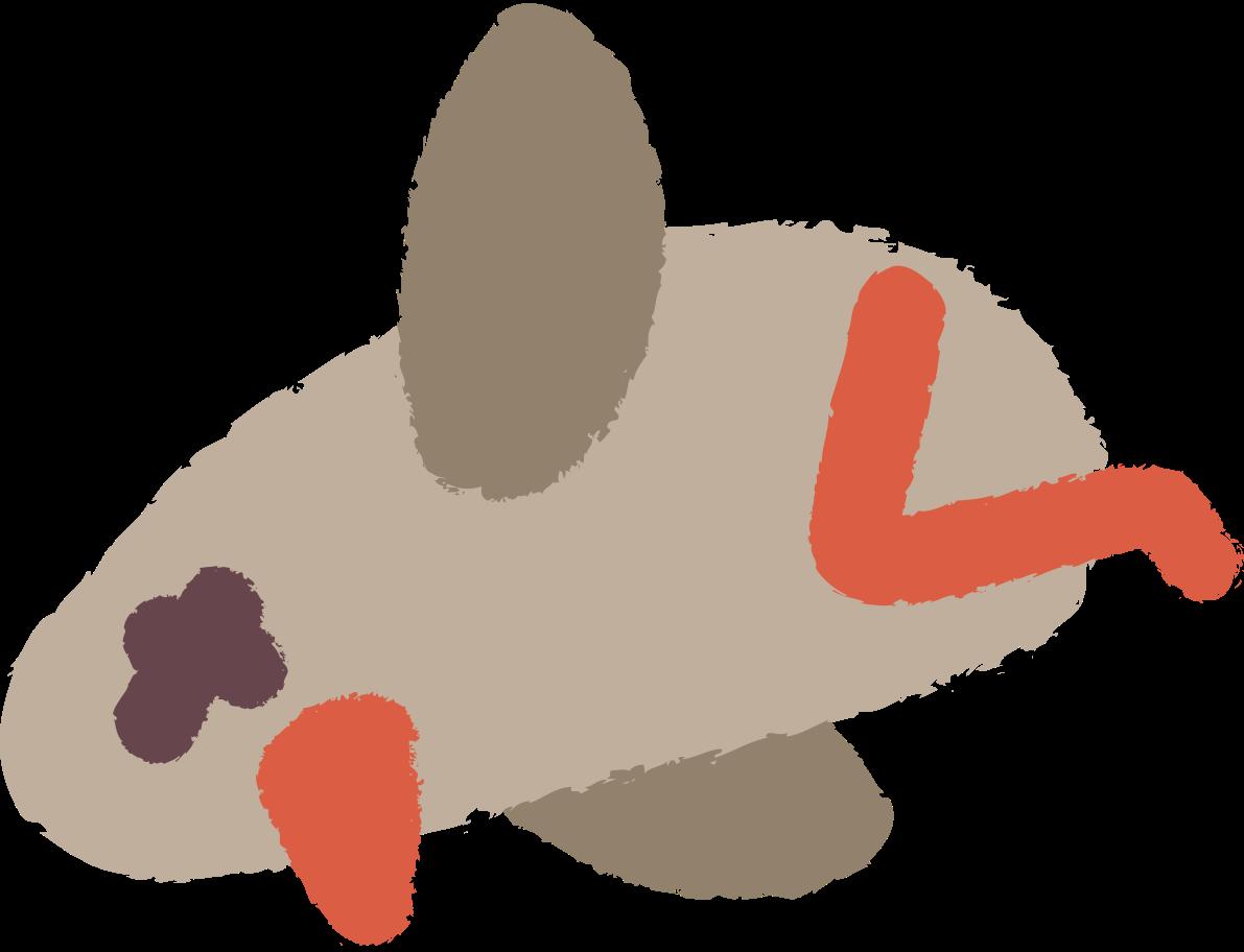 dead bird Clipart illustration in PNG, SVG