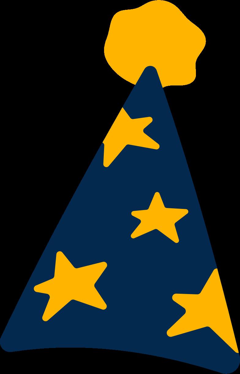 Immagine Vettoriale berretto festivo con stelle in PNG e SVG in stile  | Illustrazioni Icons8