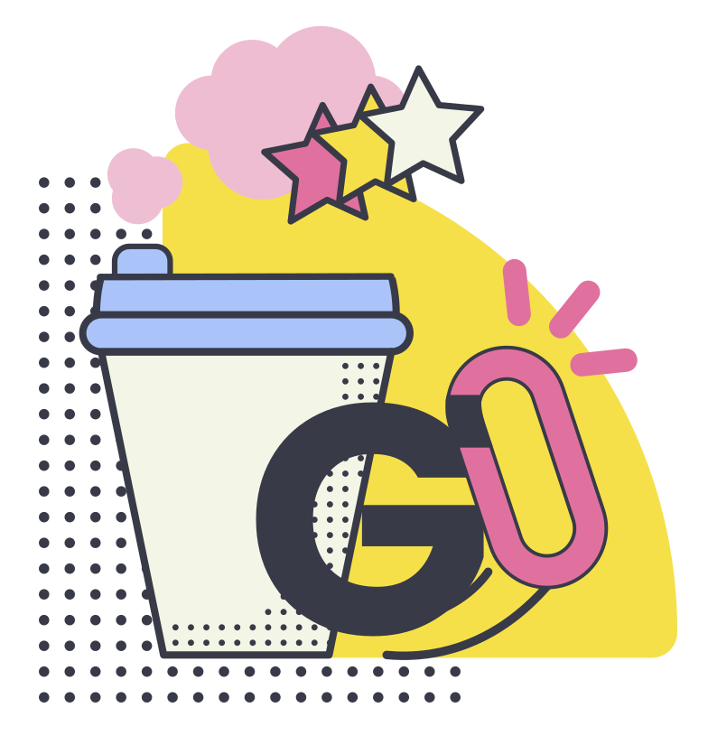 Coffee to go Clipart illustration in PNG, SVG