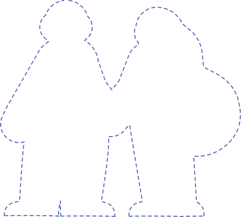 silhouette Clipart illustration in PNG, SVG