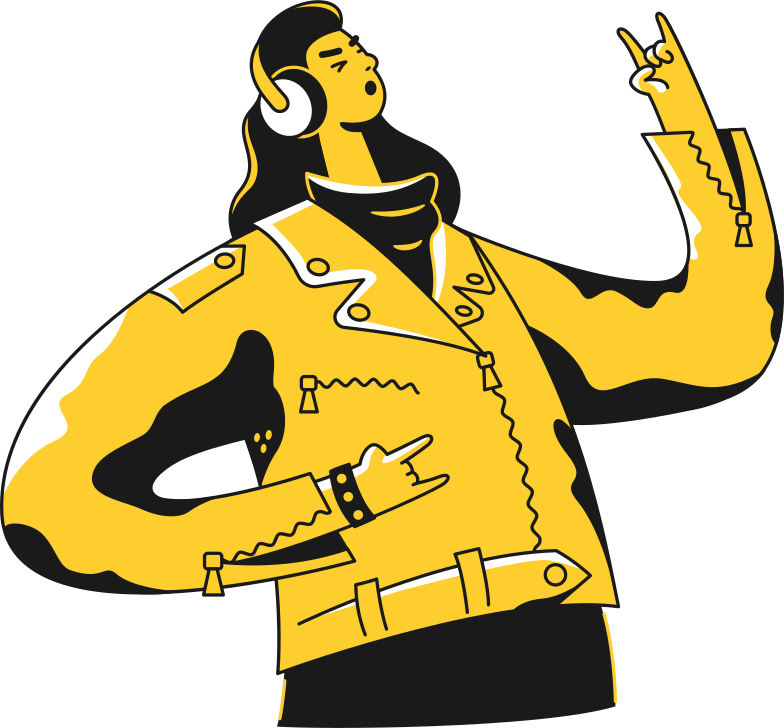 style man-in-headphones man Vector images in PNG and SVG | Icons8 Illustrations