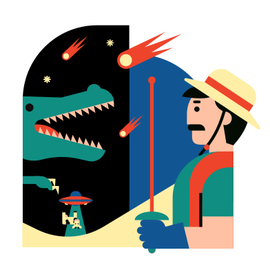 style Alien invasion images in PNG and SVG | Icons8 Illustrations