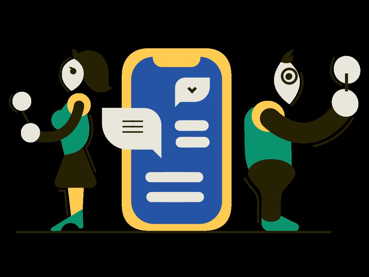 Сommunication Clipart illustration in PNG, SVG