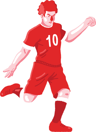style football player images in PNG and SVG   Icons8 Illustrations