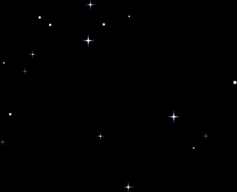 fatal error  stars in space line Clipart illustration in PNG, SVG