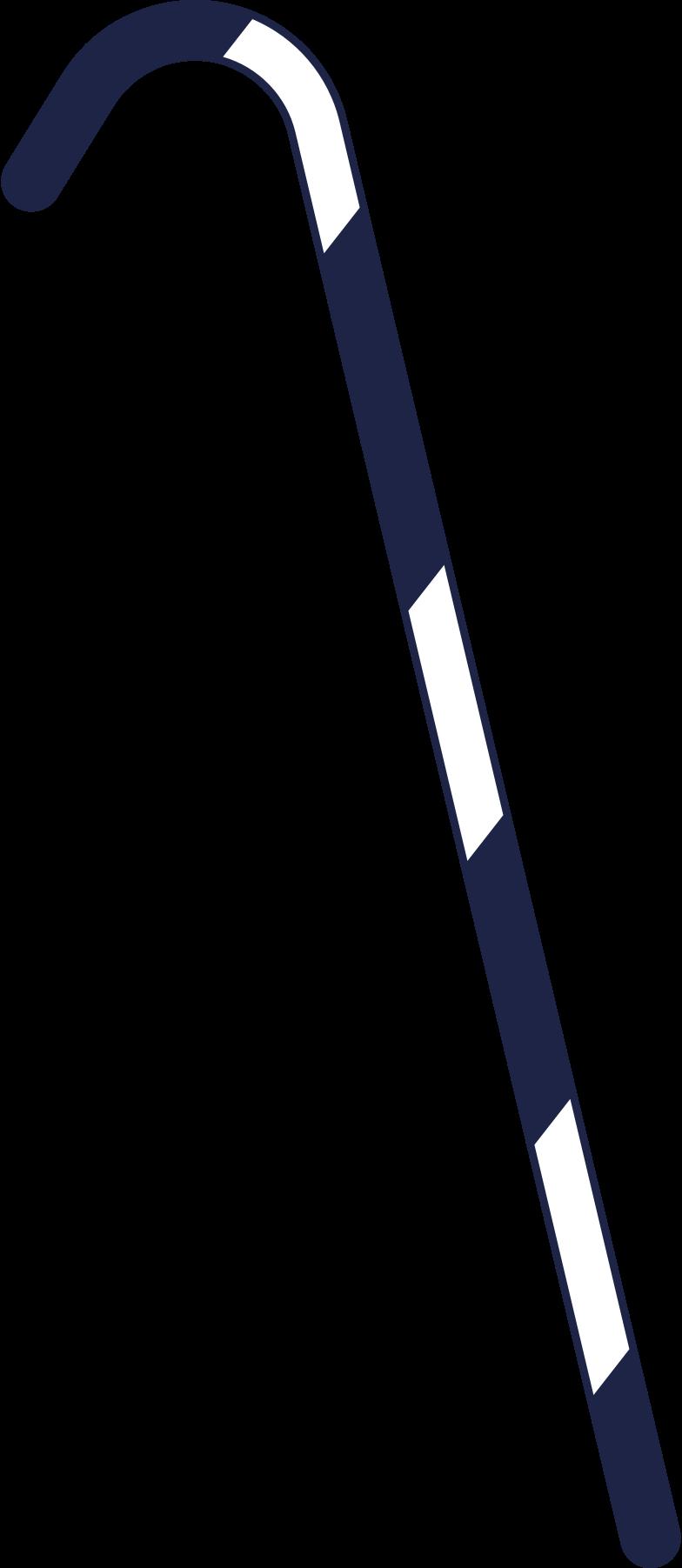 santa cane Clipart illustration in PNG, SVG