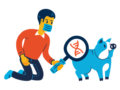 style DNA research images in PNG and SVG | Icons8 Illustrations