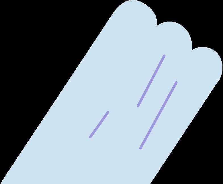 half bottle Clipart illustration in PNG, SVG