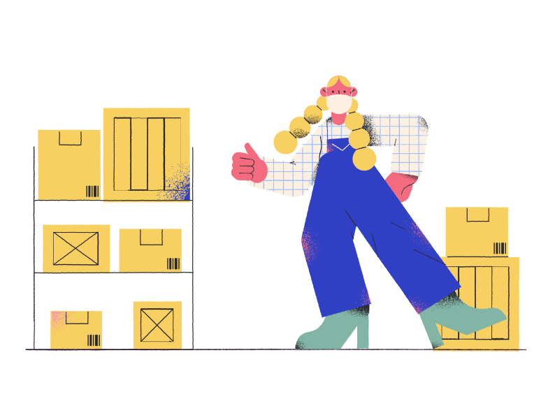 style Warehouse worker Vector images in PNG and SVG | Icons8 Illustrations