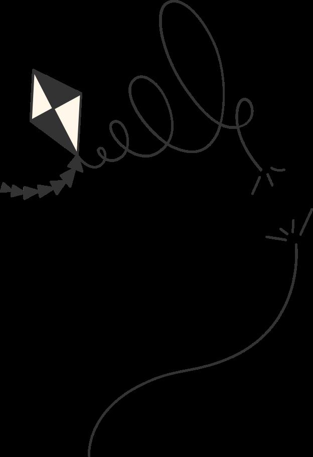 kite Clipart illustration in PNG, SVG