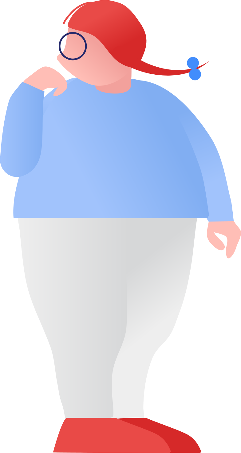 style fat girl standing Vector images in PNG and SVG | Icons8 Illustrations