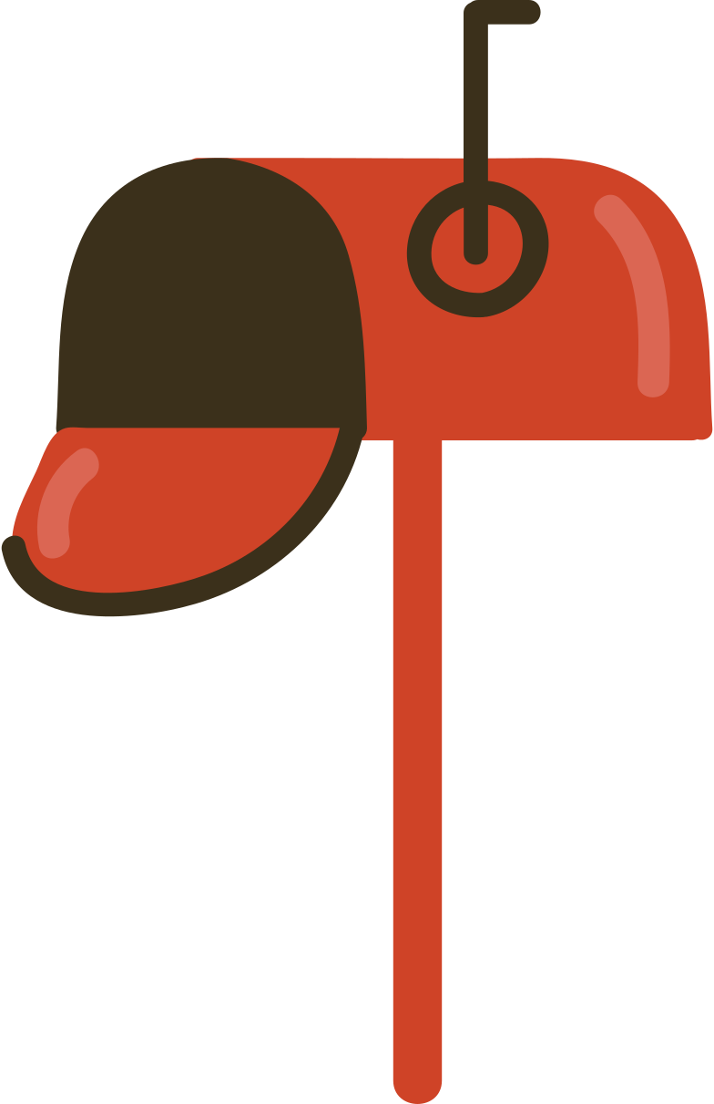 letterbox Clipart illustration in PNG, SVG