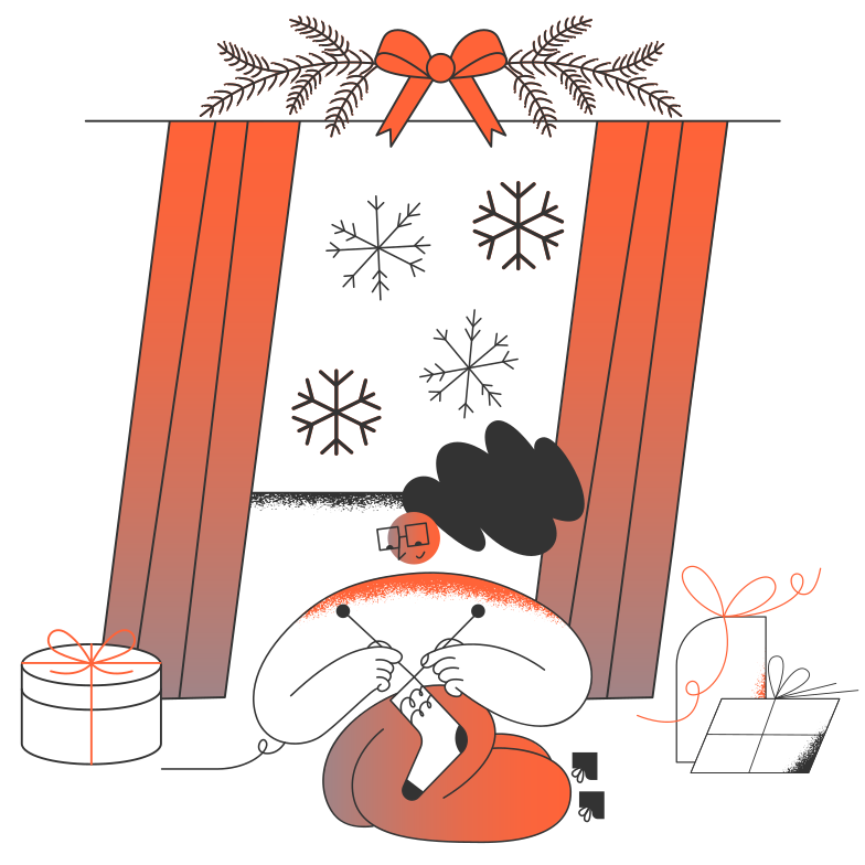 style Christmas is coming Vector images in PNG and SVG | Icons8 Illustrations
