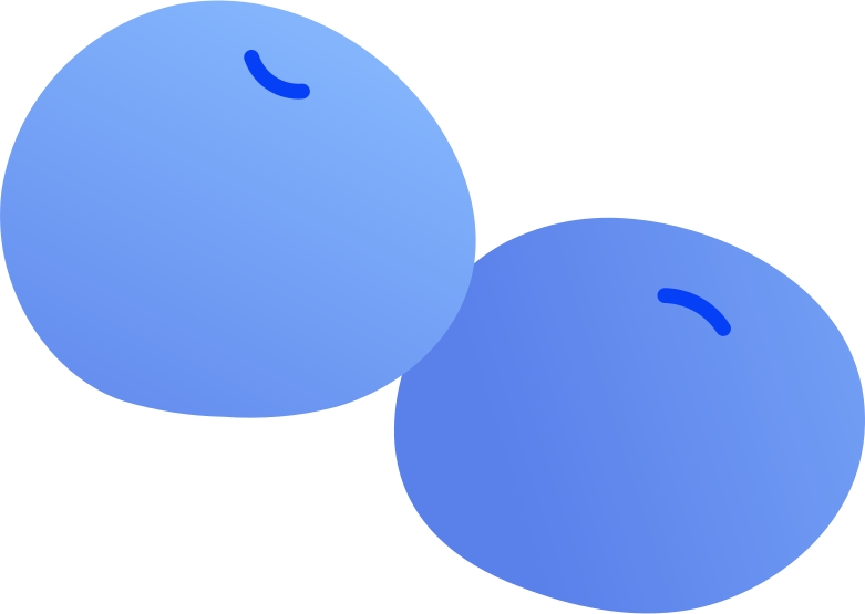 plums Clipart illustration in PNG, SVG