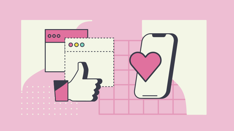 style Likes and social media  Vector images in PNG and SVG | Icons8 Illustrations