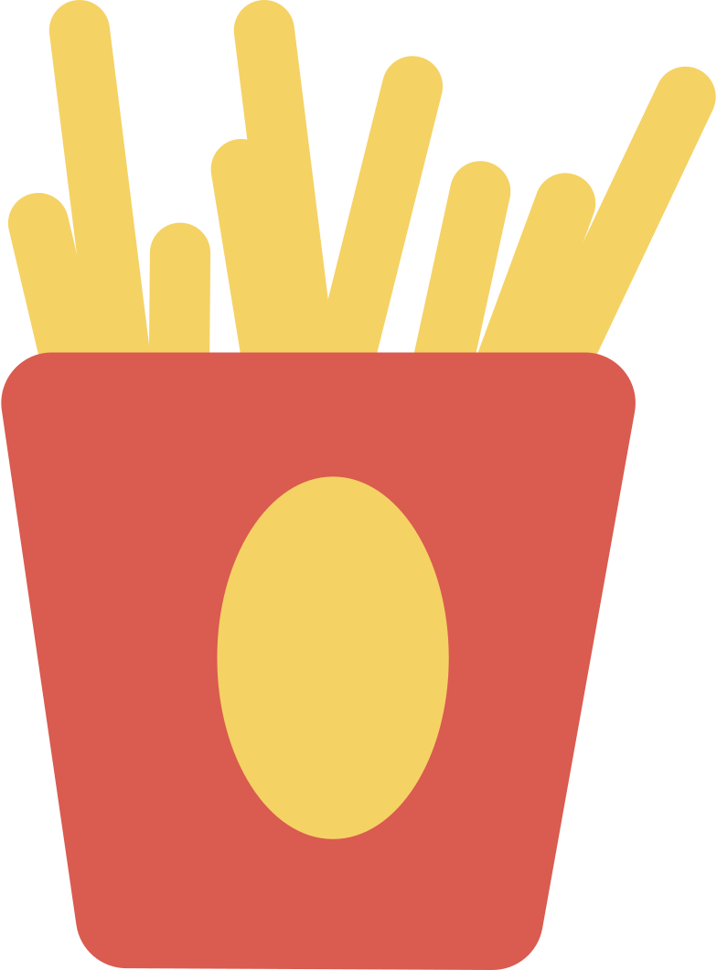 french-fries Clipart illustration in PNG, SVG