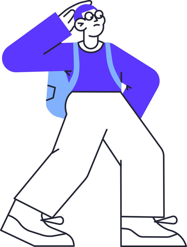 come back later  man Clipart illustration in PNG, SVG