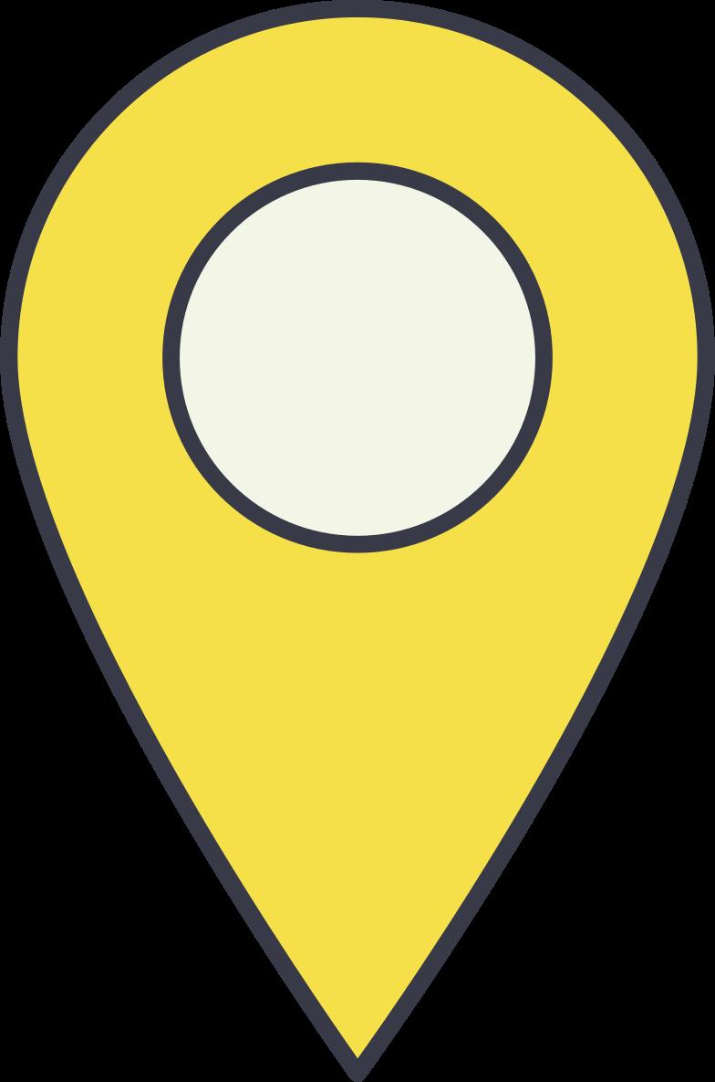 location marker Clipart illustration in PNG, SVG