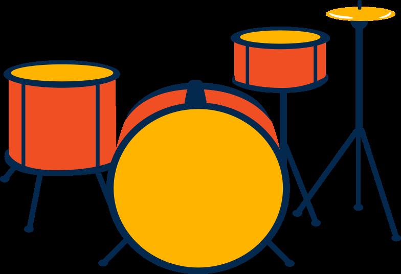 PNGとSVGの  スタイルの ドラムセット ベクターイメージ | Icons8 イラスト