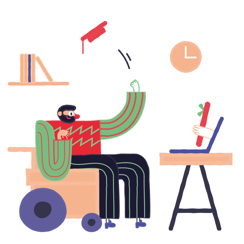 style Training for the disabled Vector images in PNG and SVG | Icons8 Illustrations