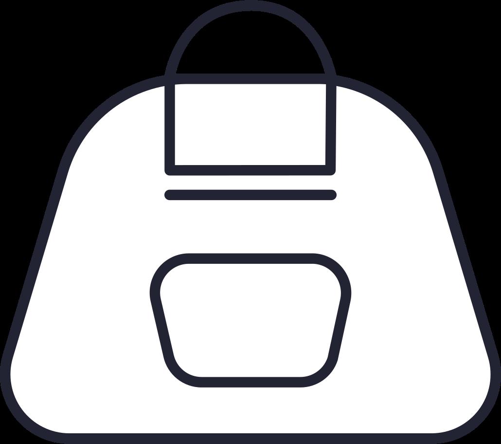 fashion  backpack Clipart illustration in PNG, SVG