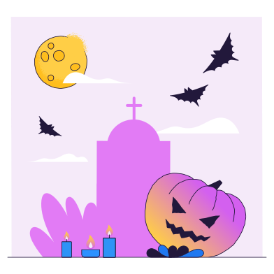 style Cemetery images in PNG and SVG | Icons8 Illustrations