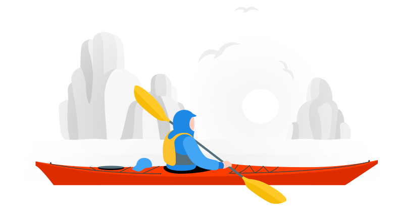 style Kayaking Vector images in PNG and SVG | Icons8 Illustrations