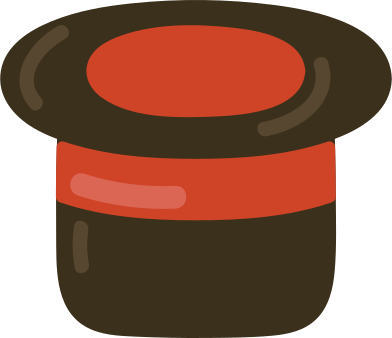 style magic hat images in PNG and SVG   Icons8 Illustrations