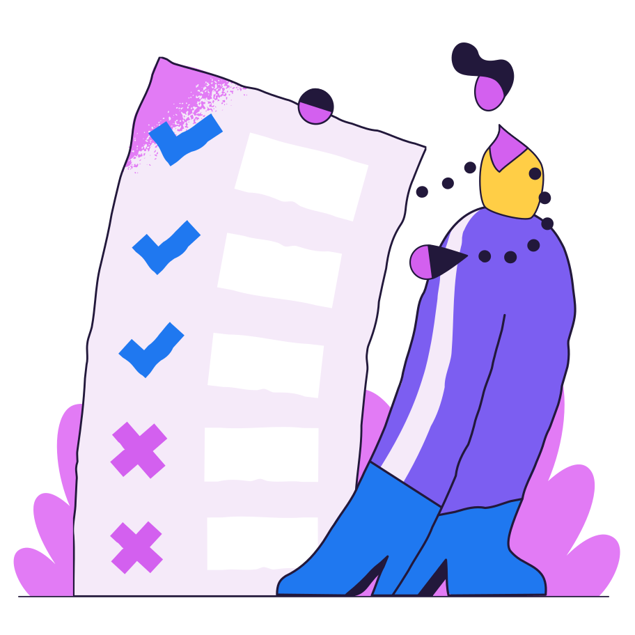 List of rules Clipart illustration in PNG, SVG