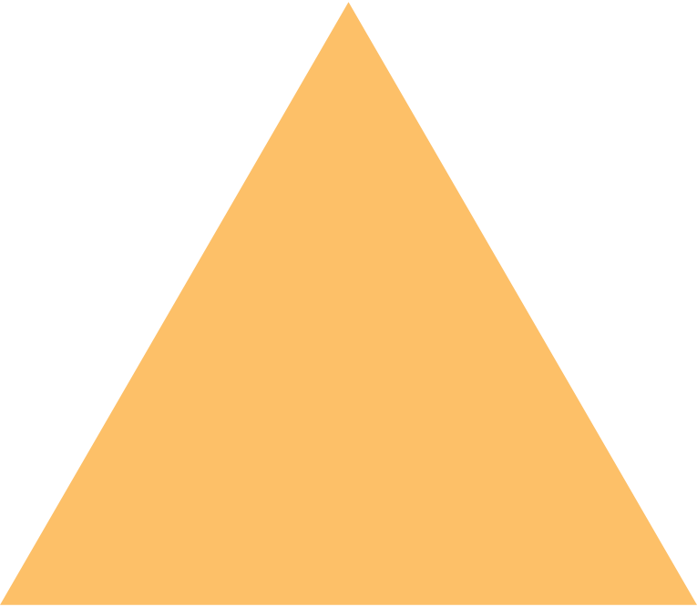triangle orange Clipart illustration in PNG, SVG