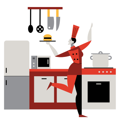 style Cuisinier images in PNG and SVG | Icons8 Illustrations