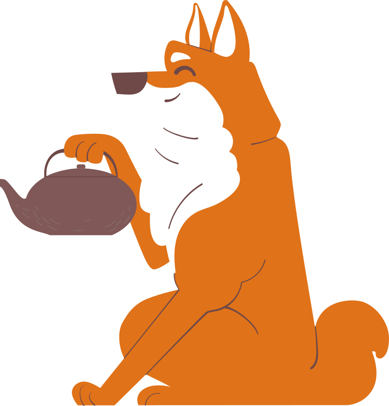 style shiba inu vs teapot Vector images in PNG and SVG | Icons8 Illustrations