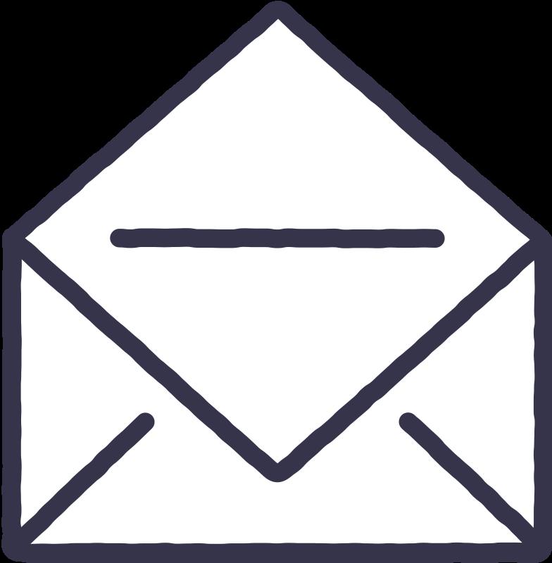 E-mail Clipart-Grafik als PNG, SVG