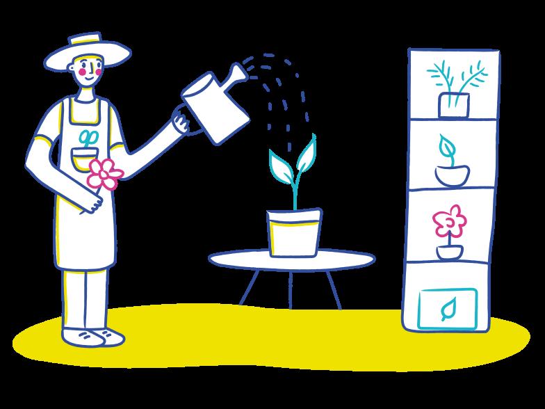 PNGとSVGの  スタイルの 花屋 ベクターイメージ | Icons8 イラスト