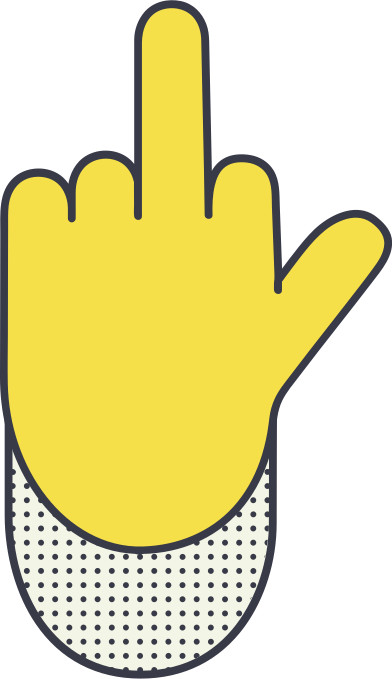 style middle finger images in PNG and SVG   Icons8 Illustrations