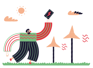 style Eco-charging images in PNG and SVG | Icons8 Illustrations