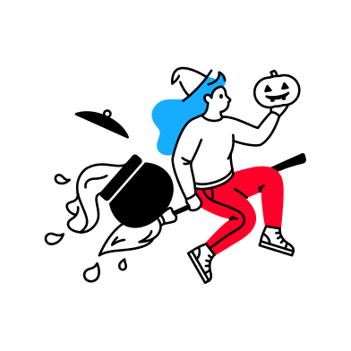 style Halloween Delivery images in PNG and SVG | Icons8 Illustrations